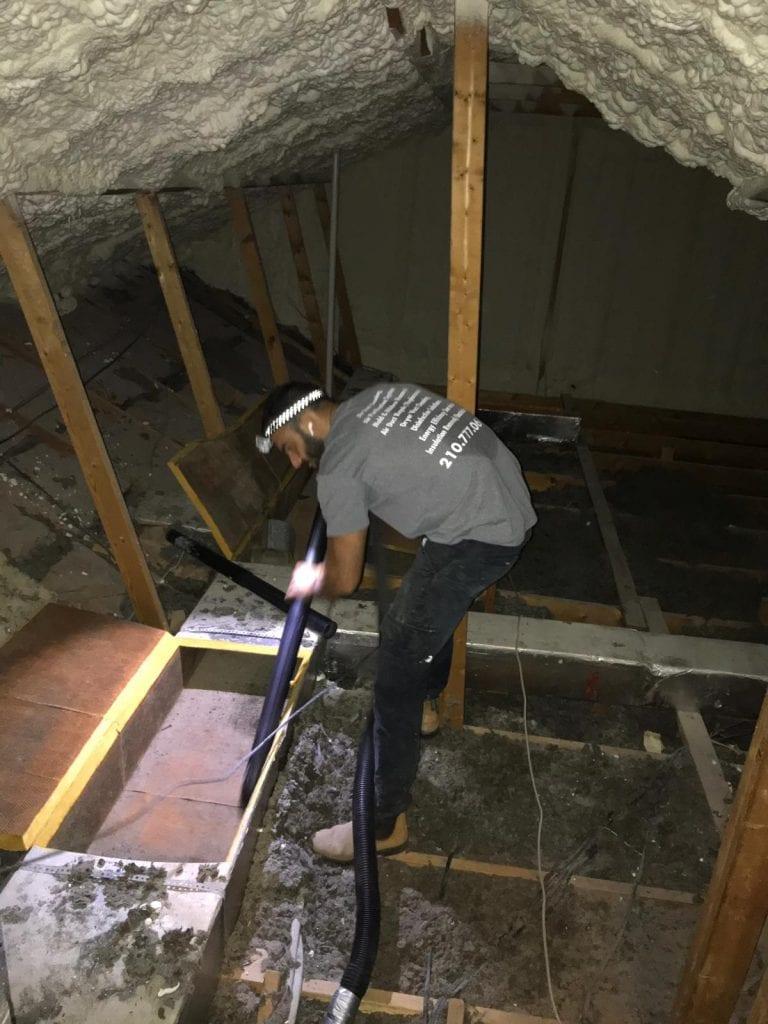 Attic Insulation And Attic Cleaning In Houston Attic Pro