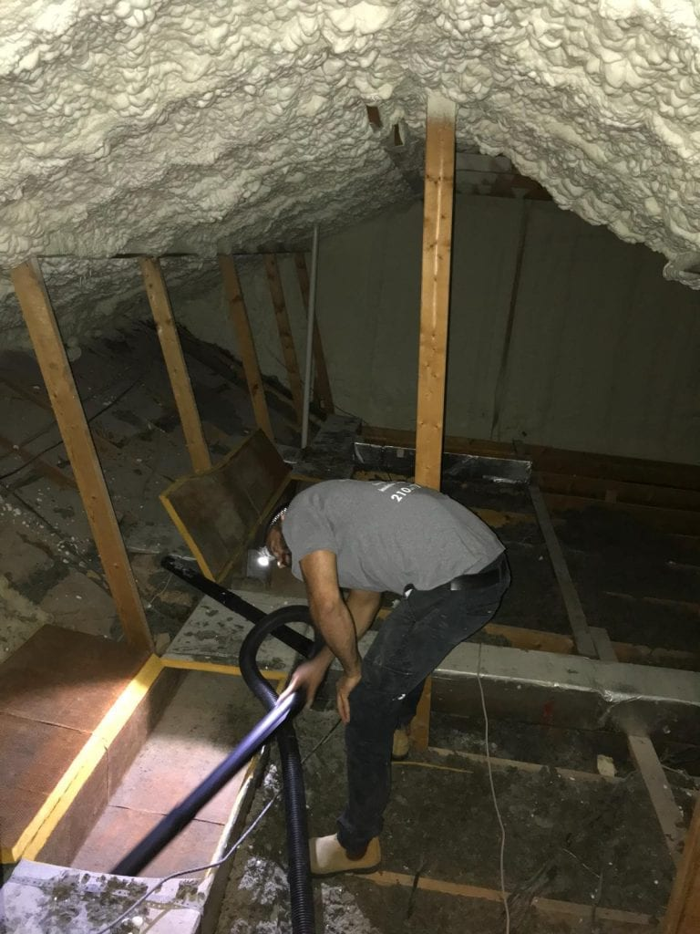 Attic Insulation And Attic Cleaning In Houston Attic Pro