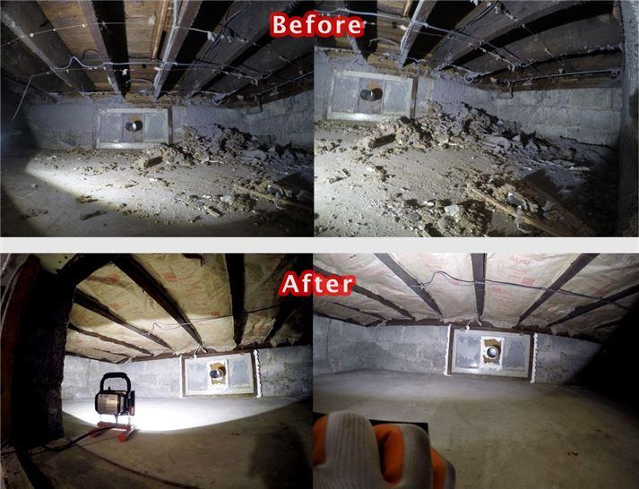 Crawl Space Cleaning In Houston Tx Attic Pro