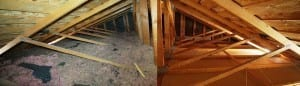 Attic Insulation Removal Houston TX
