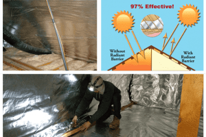 Attic Radiant Barrier Insulation Houston TX