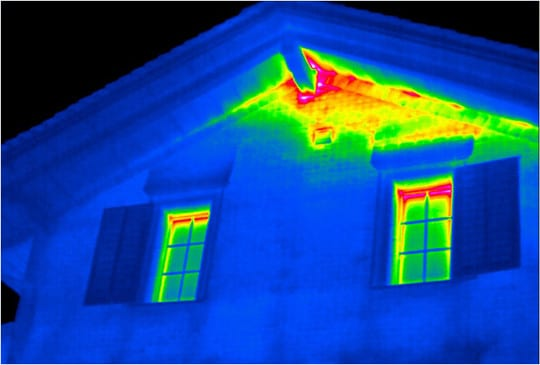 Thermal Imaging Home Inspection Attic Pro